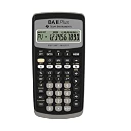 Texas Instruments BAII Plus Financial Calculator /GENUINE