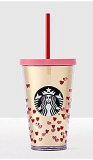 Großartig 2017 Starbucks Valentines Day Tiny Hearts Cold Cup 16 Oz