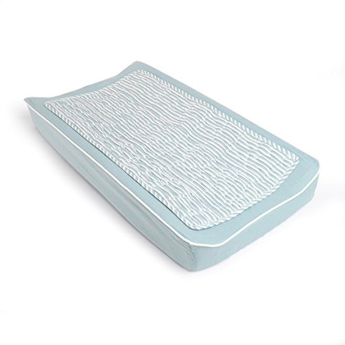 Oilo Changing Pad Cover & Topper Kit, Aqua by Oilo