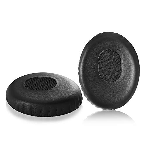 Bose QC3 Replacement Earpads, JARMOR Memory Foam Ear Cushion Cover Kit for Bose QuietComfort 3 On Ear Headphones ONLY, Black