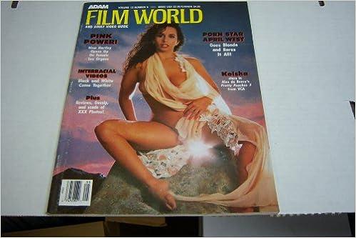 April West Porn Actress Today - Amazon.com: Adam Film World Busty Adult Magazine \