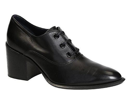 Céline Women's 317813FMSC38NO Black Leather Lace-up Shoes outlet Manchester dmrXee