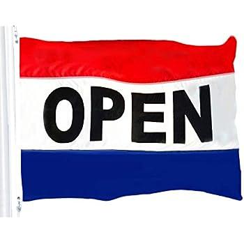 NEW 3ftX5ft GRAND OPENING OPEN SIGN BANNER FLAG better quality USA SELLER