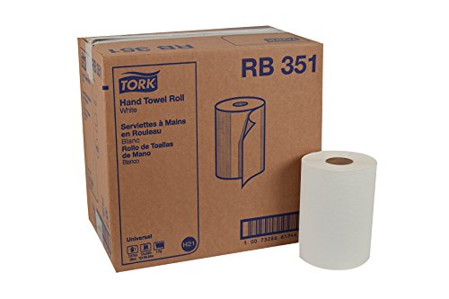 Tork Universal RB351 Hardwound Paper Roll Towel, 1-Ply, 7.87