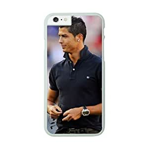 iPhone 6 Plus White Cell Phone Case Cristiano Ronaldo Fashion Phone Cases