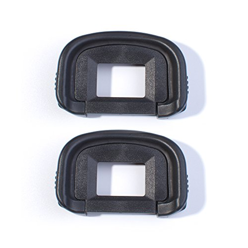 (2 Pack) Canon EG Replacement Viewfinder Eyepiece Eye Cup for Canon EOS 5D Mark III 5D3 / 5D Mark IV 5D4 / 5DSR / 5DS/ 7D / 7D Mark 2 / 1D X / 1Ds Mark III / 1D Mark IV / 1D Mark III Camera Eyecup