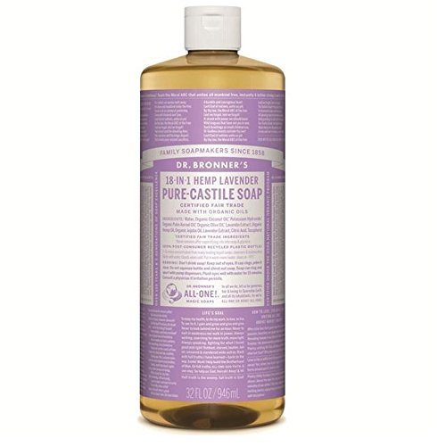 のブロナー有機ラベンダーカスティーリャ液体石鹸946ミリリットル x2 - Dr Bronner Organic Lavender Castile Liquid Soap 946ml (Pack of 2) [並行輸入品] B071KWJTKM