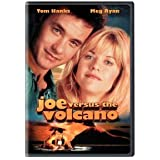 Joe Versus the Volcano Starring Tom Hanks, Meg Ryan, Lloyd Bridges, and Robert Stack (DVD - 2002)