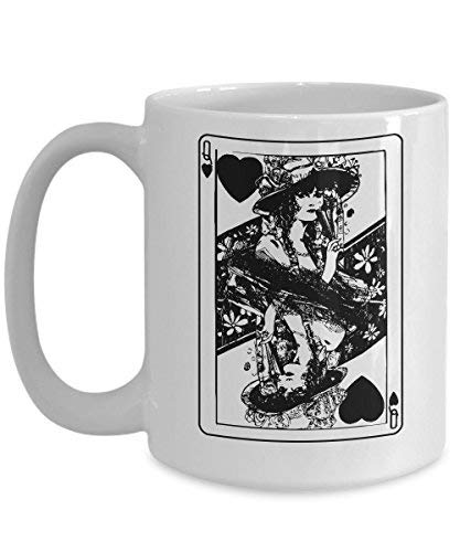 Lplpol Queen of Hearts Mug Funny Halloween Card Costume Coffee Cup]()