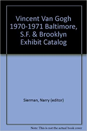 vincent van gogh 1970 1971 baltimore sf brooklyn exhibit catalog