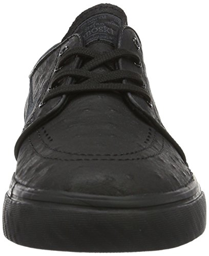 Nike Men's Zoom Stefan Janoski L Gymnastics Shoes, Black Black (Black/Black-anthracite)