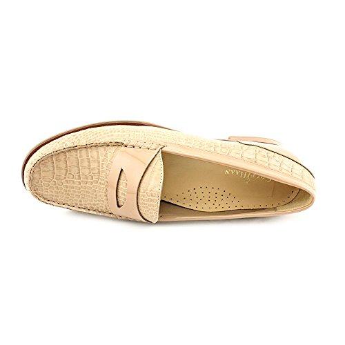 Zapatos Holgazanes De Cuero Nude Para Mujer Cole Haan Laurel Size 10
