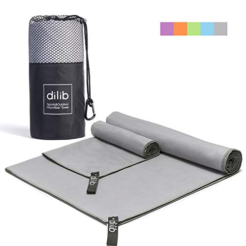 dilib Microfiber Travel Sports Towels product image
