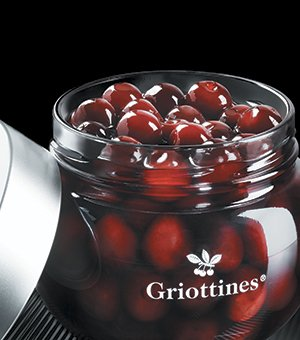 French Morello Cherries (Griottines), Pack of 3 Jars, Individually Wrapped, 11.05 Ounces Each, Imported