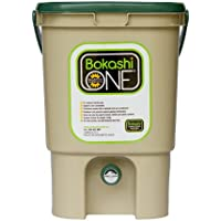 Bokashi One Eco-Friendly Composting Kitchen Plastic Bucket 20 Litre - Tan