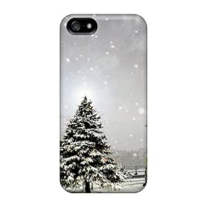 High Quality Winter Tree Case For Iphone 5/5s / Perfect Case