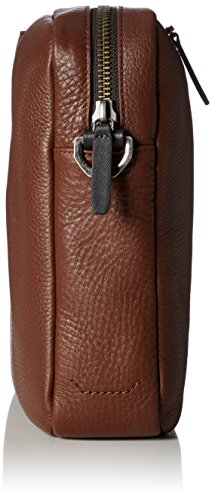 Ecco Herren Eday L Messenger Business Tasche, Braun (Brown), 7x26x37 cm
