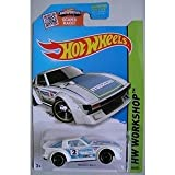 mazda rx7 hot wheels - HOT WHEELS WHITE MAZDA RX-7 193/250 WORKSHOP SERIES WITH SHOWDOWN SCAN AND RACE PACKAGE