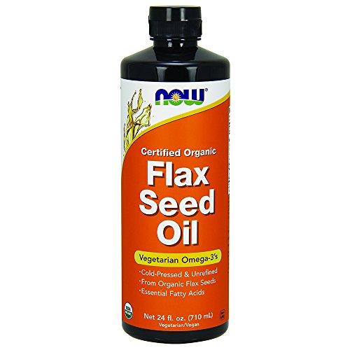 NOW Flax Seed Liquid 24 Ounce