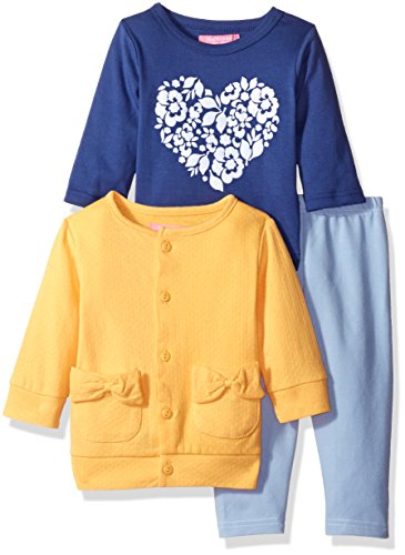 isaac-mizrahi-girls-3pc-button-front-cardigan-longsleeve-top-and-legging-set-yellow-blue-3-6-months
