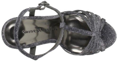 Chinese Laundry Take Care - Sandalias fashion de material sintético mujer gris - Grau (Pewter)