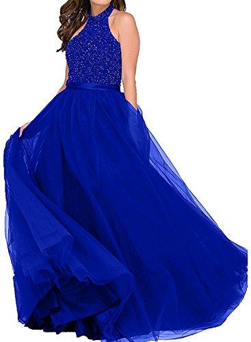 Marie Abendkleider La Rot Abschlussballkleider Langes Royal Blau Braut Promkleider Brautmutterkleider Dunkel Perlen Bdd06qw