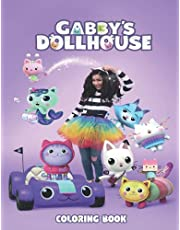 Gabby's Dollhouse Coloring Book: High Quality Graphics Of Gabbys Dollhouse, Gabby Dollhouse