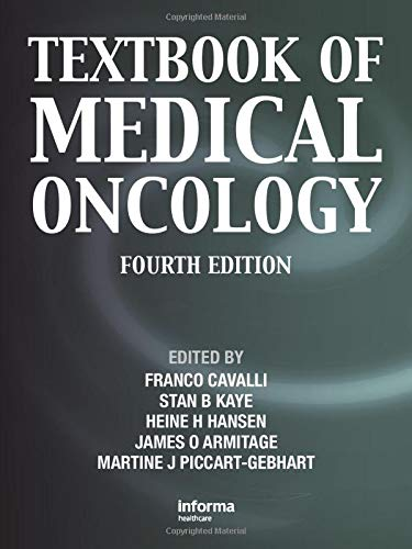 Textbook of Medical Oncology (Cavalli, Textbook of Medical Oncology)