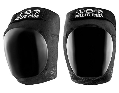 187 Killer Pro Knee Pads, Junior, Black / Black ()