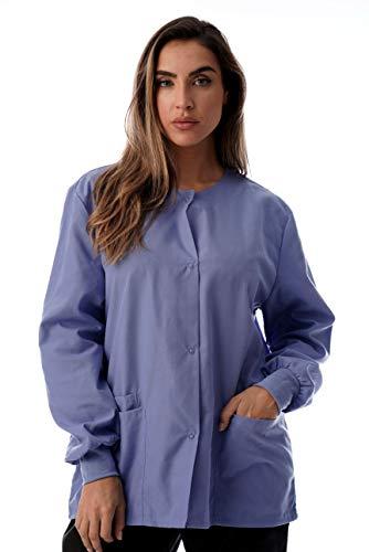 - Just Love Womens Solid Medical Scrub Jacket 4501-CEIL-M
