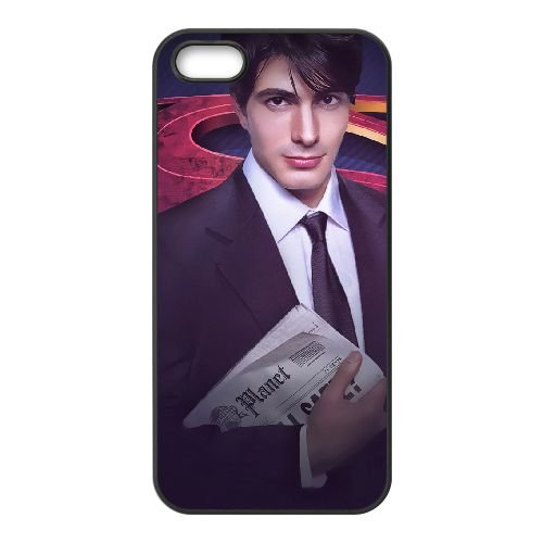 Brandon Routh coque iPhone 4 4S cellulaire cas coque de téléphone cas téléphone cellulaire noir couvercle EEEXLKNBC23754