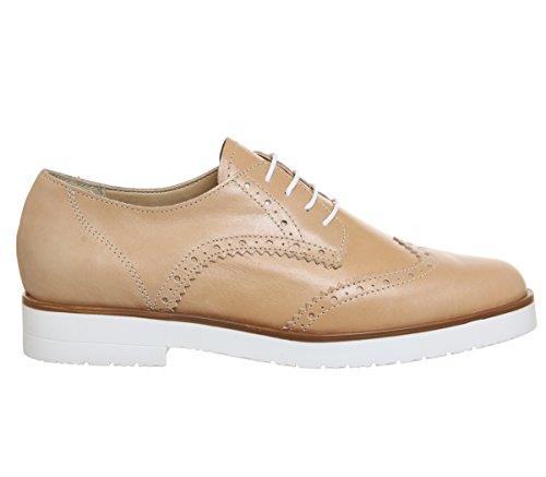 Fudge Lace Brogues Leather Nude Up Office Zd5nO7xpZ