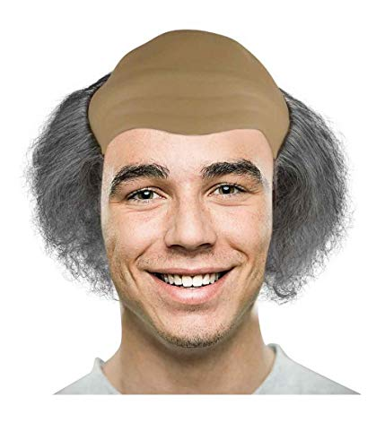 HalloweenPartyOnline Old Bald Man Wig HM-096 -