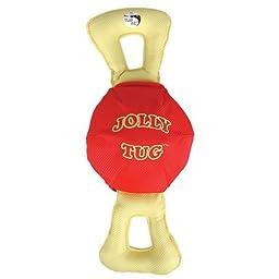 Jolly Pets Jolly Tug Tug/Squeak Toy, Extra Large