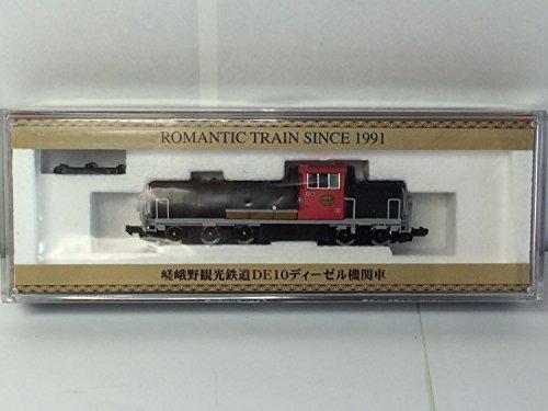 TOMIX Nゲージ 嵯峨野観光鉄道 DE10 ディーゼル機関車 ROMANTIC TRAIN SINCE 1991の商品画像