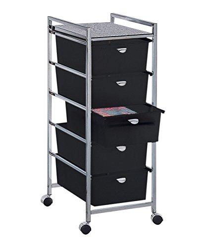PIBBS 5 Drawer Cart Metal Frame (Model: D25) by Pibbs