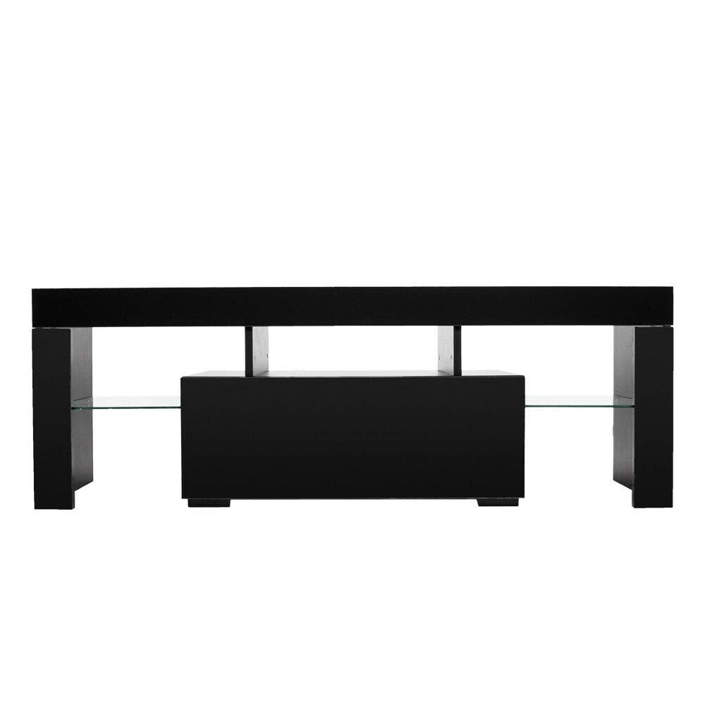 Adumly TV Stand Table Media Entertainment Center Console Modern Storage Cabinet Shelf by Adumly