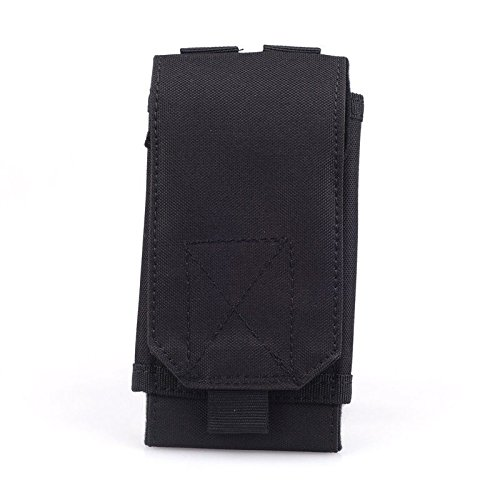 New Nylon Black Tactical Outdoors Hiking Hunting Sport Military Cover Bag Pouch Case Holster For Mobile Phone (Nike Air Jordan Storage Box)