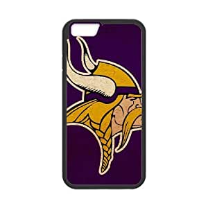 High Quality Specially Designed Skin cover Case Sports minnesota vikings iPhone 6 6s Plus 5.5 Inch Cell Phone Case Black