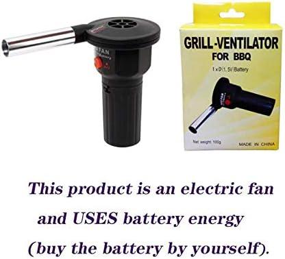 Ventilateur électrique de camping en plein air, souffleur de barbecue portable, outil de cuisson, outil d'allumage, ventilateur de pique-nique