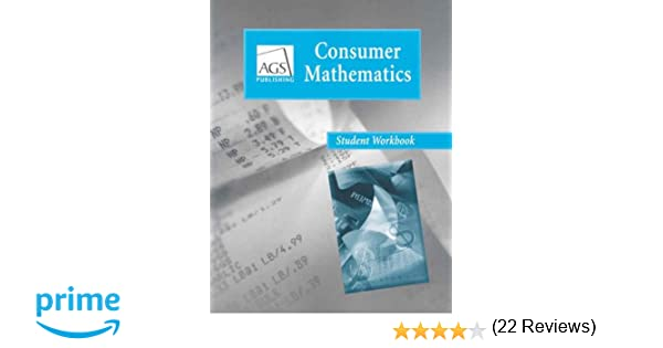 Consumer Mathematics student workbook: AGS Secondary ...