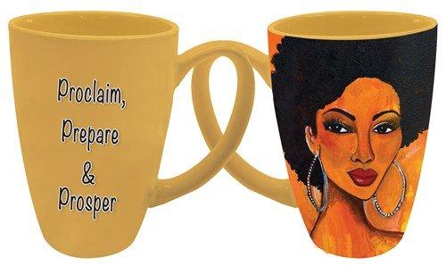 American Mug African (Proclaim, Prepare and Prosper Latte Mug (16 Oz))