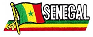 Senegal - Country Flag Patch