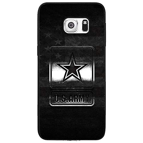 Skinsends Vanity Military US Army Case Cover Compatible with Samsung s6 Edge Plus, Hard Plastic Back Case Cover Compatible with Samsung Galaxy s6 Edge Plus]()
