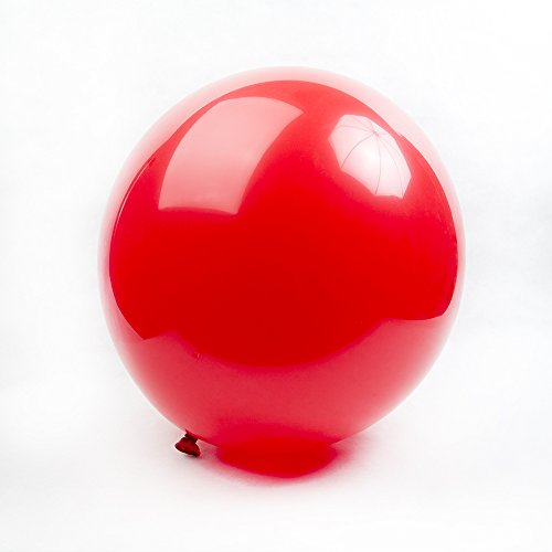 Tuf-Tex Red Round Balloons - 24
