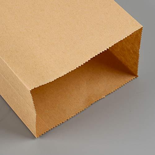 Amazon.com: Bolsas de papel marrón para el almuerzo, bolsas ...