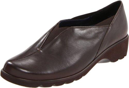 ara Womens Adel1 Slip-On Dark Brown Leather