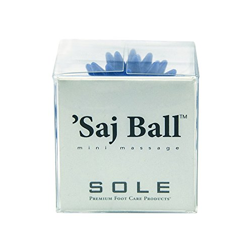 Saj (sAHHHj) Ball Single - The Original Mini Relaxation Massage, Wellness Gift, Travel Gift, Airline Approved - Blue