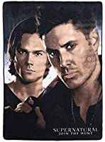 Supernatural Winchester Brothers Plush Throw