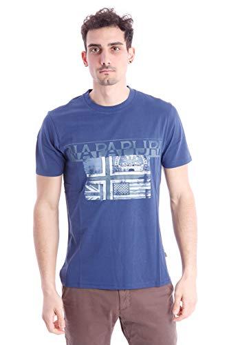 Napapijri Short Sleeve T-Shirt Round Neck Cotton Article N0YIJE SAWY